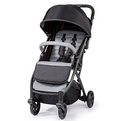 Summer Infant 3DPac Stroller, Lightweight and Compact Carseat Adaptable Design with Convenient O ...