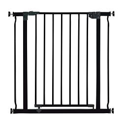 Dreambaby Liberty Auto Close Security Gate w/Smart Stay Open Feature (29.5-33 inches, Black)