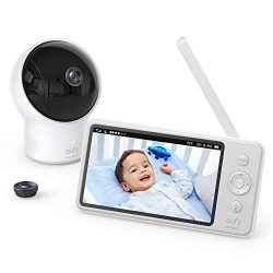 """Baby Monitor, eufy Security SpaceView Video Baby Monitor, Pioneering Generation, 5"""" HD LCD Displ ..."""