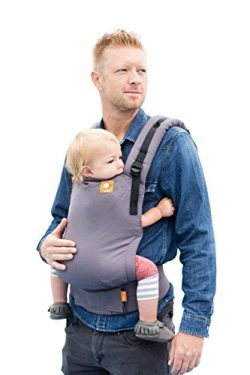 Baby Tula Free-to-Grow Baby Carrier, Adjustable Newborn to Toddler Carrier, Ergonomic and Multip ...