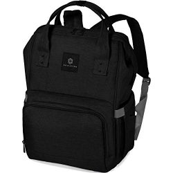 Soulsten Diaper Bag Backpack, Stylish for Mom and Dad, Multi-Function, Waterproof Travel Baby Na ...