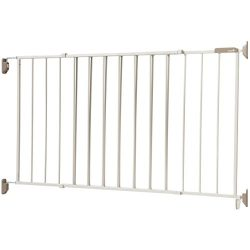 Safety 1st Wide & Sturdy Sliding Metal Gate, Fits Spaces Between 40″ and 64″