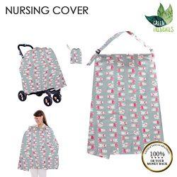G.F. Breastfeeding Cover Ups, Nursing Cover for Breastfeeding, Lightweight, Nursing Cape, Breath ...