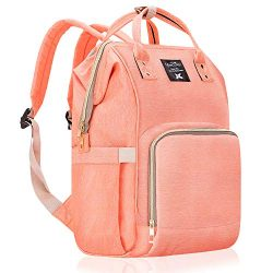 Diaper Bag Multi-Function Waterproof Travel Backpack Nappy Bags for Baby Care, Large Capacity, S ...