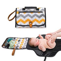Portable Baby Diaper Changing Pad Station by Cocoon Kids – Travel Diaper Organizer Bag to  ...