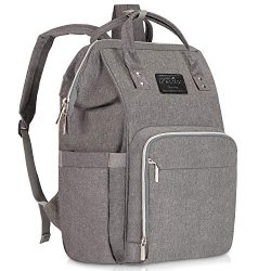 Diaper Bag Backpack, Lifecolor Multi-Function Waterproof Maternity Nappy Bags for Mom Travel, Ba ...