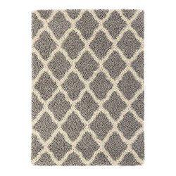 Sweet Home Stores Cozy Shag Collection Moroccan Trellis Design Shag Rug Contemporary Living & ...