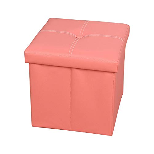 Flora Florida Storage Ottoman – Folding Toy Box Chest with Memory Foam Seat, Faux Leather  ...