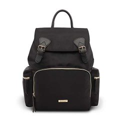 Pipibear Diaper Backpack, Stylish Multi-Function Diaper Bag Large Capacity Waterproof Travel Bac ...