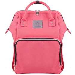 Baby Bag Backpack for Travel and Portable Changing Mat Set – Multifunction Diaper Bag for Moms a ...