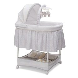 Simmons Kids Gliding Bassinet, Peacock