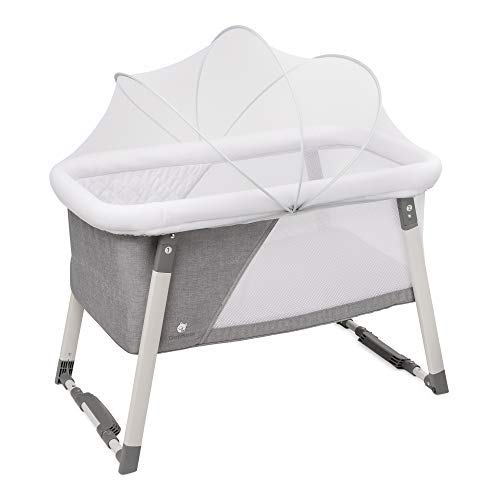 Travel Bassinet for Baby – Rocking & Sturdy Cradle – Includes Carry Case, Mosqui ...