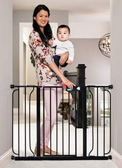 Regalo Easy Step 49-Inch Extra Wide Baby Gate, Includes 4-Inch and 12-Inch Extension Kit, 4 Pack ...