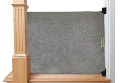 The Stair Barrier Baby and Pet Gate – Wall-to-Banister- Fabric Safety Gate – Made in The U ...