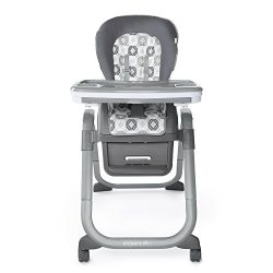 Ingenuity SmartServe 4-in-1 High Chair – Clayton – High Chair, Toddler Chair, and Booster