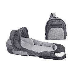 Baby Delight Snuggle Nest Adventure Portable Infant Sleeper | Travel Bed & Bassinet | Canopy ...