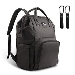 Hafmall Diaper Bag Backpack Waterproof Multi-Function Travel Bags, Large Capacity and Durable Ba ...