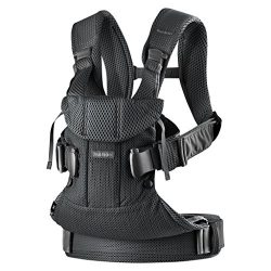 BABYBJÖRN New Baby Carrier One Air 2019 Edition, Mesh, Black