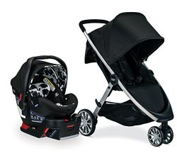 Britax B-Lively & B-Safe Ultra Travel System, Cowmooflage