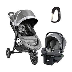 2018 Baby Jogger City Mini Travel System, Complete with City Mini Gt Stroller, City GO Car Seat, ...