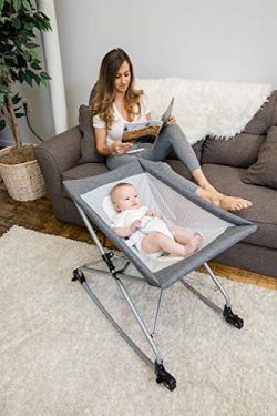Baby Delight Go with Me Sway Portable Infant Rocker | Baby Bassinet | Sleeper |