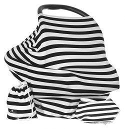 Baby Benjamin Convertible Nursing Cover Up for Breastfeeding – Baby Gift Bundle with Bib + Bag & ...