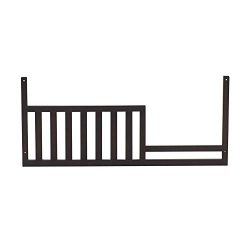 Baby Cache Montana Collection Toddler Bed Guard Rail, Espresso