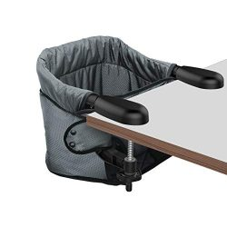 Hook On Hight Chair, Clip on Table Chair w/Fold-Flat Storage Feeding Seat -Fast Table Chair