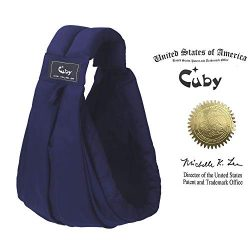 Baby Carrier by Cuby, Natural Cotton Baby Sling Baby Holder Extra Comfortable for Easy Wearing C ...