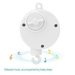 (Pack of 2) Baby Musical Crib Mobiles Toys Baby Bed Bell Toys Infant Mechanical Music Box Newbor ...