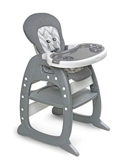Envee II Baby High Chair with Toddler Playtable and Chair Conversion