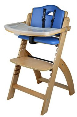 Abiie Beyond Wooden High Chair With Tray. The Perfect Adjustable Baby Highchair Solution For You ...