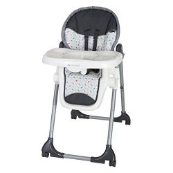 Baby Trend Deluxe 2 in 1 High Chair, Diamond Geo
