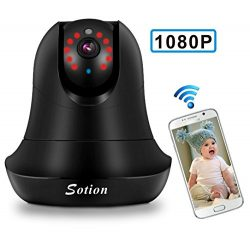 Baby Monitor, 1080P FHD Video Baby Monitor with Camera, Two Way Talk, Night Vision and Motion De ...