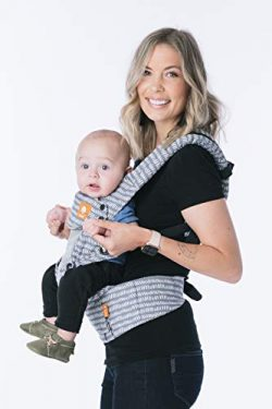 Baby Tula Coast Explore Mesh Baby Carrier 7 – 45 lb, Adjustable Newborn to Toddler Carrier, Mult ...