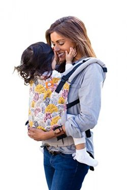 Baby Tula Multi-Position, Ergonomic Baby Carrier, Front and Back Carry for 15 – 45 pounds – Shen ...