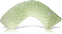 Luna Lullaby Bosom Baby Nursing Pillow, Sage Dot