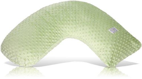 Luna Lullaby Bosom Baby Nursing Pillow, Sage Dot