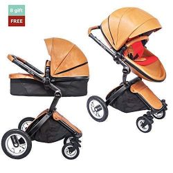 KID1st elegant all-in-1 high landscape All-Terrain Egg Shell infant Baby Stroller Travel System  ...