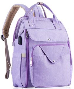 HizGon Diaper Bag Backpack,Large Multifunction Baby Diaper Bags,Large Capacity, Convenient for S ...