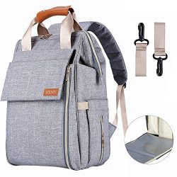 Diaper Bag Backpack,Multifunction Waterproof Travel Diaper Backpack Maternity Baby Nappy Changin ...