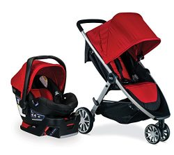 Britax B-Lively & B-Safe 35 Travel System, Cardinal