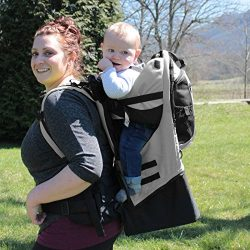 Gorilla Carriers – Gray Baby Carrier Backpack