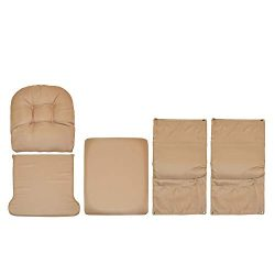 Storkcraft Hoop Glider and Ottoman Replacement Cushion Set – Stylish Cushion Replacement Set for ...