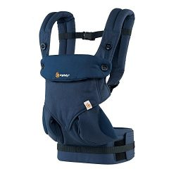 Ergobaby 360 All Carry Positions Award-Winning Ergonomic Baby Carrier (Midnight Blue)