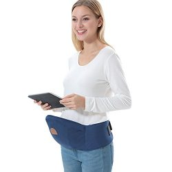 ThreeH Baby Hip Seat Belt Carrier Toodler Waist Stool Seat Carrier BC10,Blue