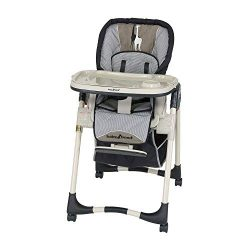 Baby Trend Portable Modern Infant & Baby Feeding High Chair with Tray, Havenwood