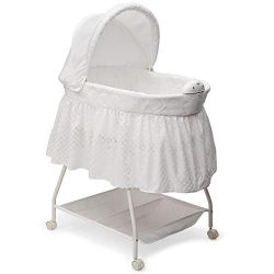 Delta Children Deluxe Sweet Beginnings Bassinet, Turtle Dove