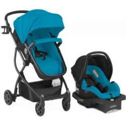 Urbini Omni Plus Travel System Teal Color