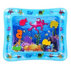 Tummy Time Water Playmat, Inflatable Water Mat for Babies, Perfect Baby Toys for Your Baby&#8217 ...